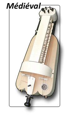 Vielle à roue modèle médiéval