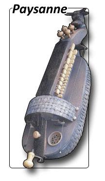 vielle à roue modèle paysanne